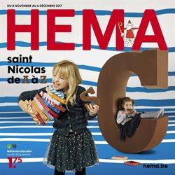 Promos de Hema dans le dépliant à Mons
