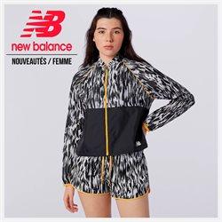 Promos de Sport dans le dépliant à New Balance ( Plus d'un mois)