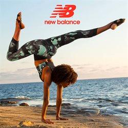 Promos de Sport dans le dépliant de New Balance à Mons