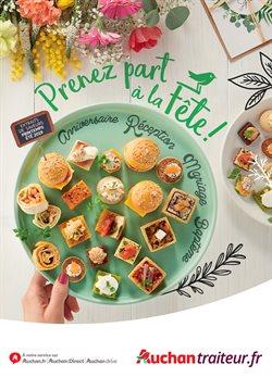 Promos de Supermarchés dans le dépliant de Auchan à Liège