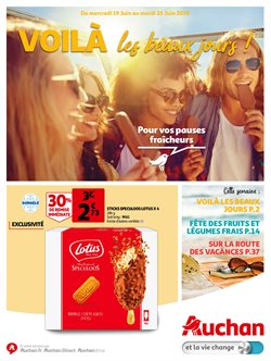 Promos de Supermarchés dans le dépliant de Auchan à Louvain