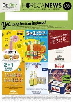 Promos de Supermarchés dans le dépliant à BelBev ( Expire demain)