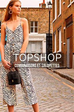 Promos de TOPSHOP dans le dépliant à Bruxelles