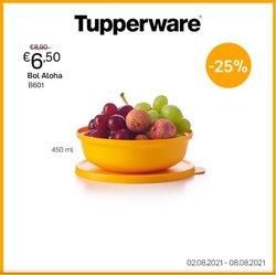 Promos de Tupperware dans le dépliant à Tupperware ( Publié hier)