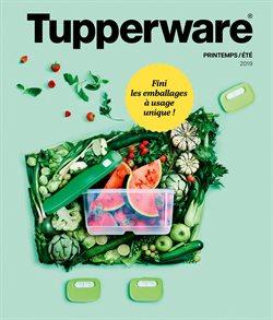 Promos de Supermarchés dans le dépliant de Tupperware à Liège