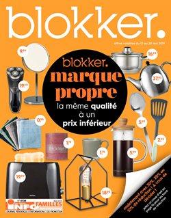 Promos de Meubles et Décoration dans le dépliant de BLOKKER à Bruxelles