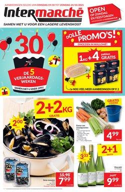 Promos de Supermarchés dans le dépliant à Intermarché ( Expire aujourd'hui)