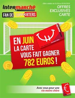 Promos de Supermarchés dans le dépliant de Intermarché à Liège