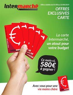 Promos de Intermarché dans le dépliant à Bruxelles