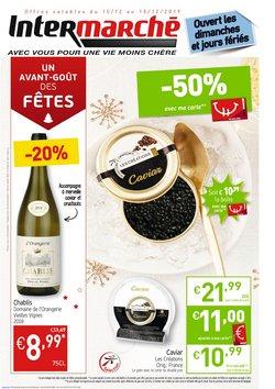 Promos de Supermarchés dans le dépliant de Intermarché à Bruxelles
