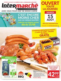 Promos de Supermarchés dans le prospectus de Intermarché à Louvain ( 2 jours de plus )