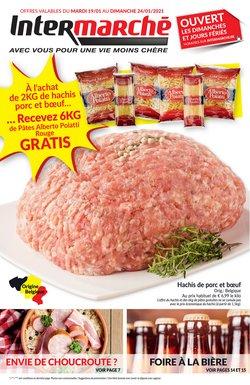 Promos de Supermarchés dans le prospectus de Intermarché à Roulers ( Publié hier )