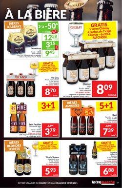 Promos de Supermarchés dans le prospectus à Intermarché ( 2 jours de plus )