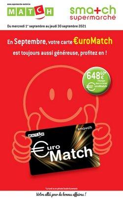 Promos de Match dans le dépliant à Match ( 7 jours de plus)