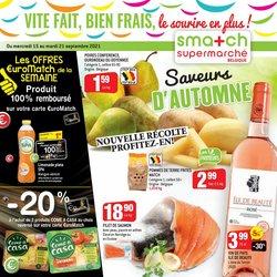 Promos de Supermarchés dans le dépliant à Match ( Expire aujourd'hui)
