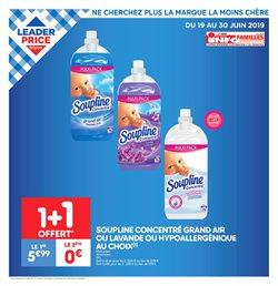 Promos de Supermarchés dans le dépliant de Leader Price à Louvain