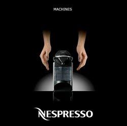 Promos de Nespresso dans le dépliant à Bruxelles