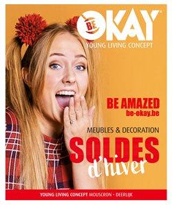 Promos de Meubles et Décoration dans le prospectus de BE OKAY à Roulers ( 6 jours de plus )