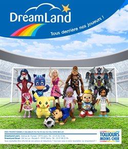 Promos de Jouets et Bébé dans le dépliant de Dreamland à Bruxelles