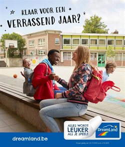 Promos de Jouets et Bébé dans le dépliant de Dreamland à Liège