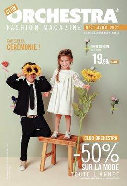 Promos de Jouets et Bébé dans le prospectus de Orchestra à Bruxelles ( 18 jours de plus )