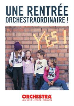 Promos de Jouets et Bébé dans le dépliant de Orchestra à Mons