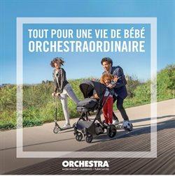 Promos de Orchestra dans le dépliant à Bruxelles