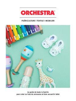 Promos de Jouets et Bébé dans le dépliant de Orchestra à Liège