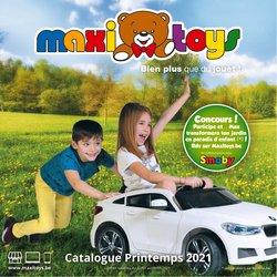 Promos de Jouets et Bébé dans le prospectus de Maxi Toys à Bruxelles ( 27 jours de plus )