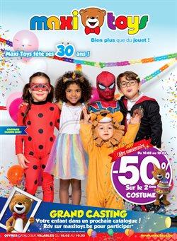 Promos de Jouets et Bébé dans le dépliant de Maxi Toys à Bruxelles