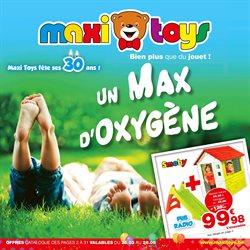 Promos de Jouets et Bébé dans le dépliant de Maxi Toys à Louvain