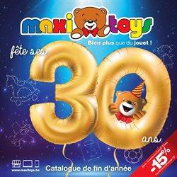 Promos de Jouets et Bébé dans le dépliant de Maxi Toys à Liège