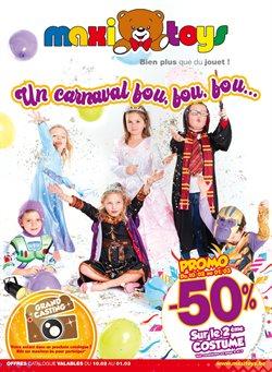 Promos de Jouets et Bébé dans le prospectus de Maxi Toys à Wavre ( 4 jours de plus )