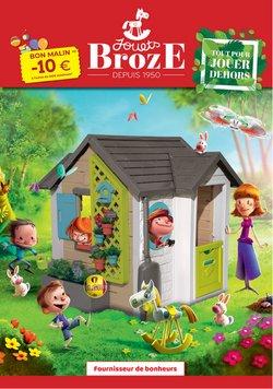 Promos de Jouets et Bébé dans le prospectus de Broze à Bruxelles ( Plus d'un mois )