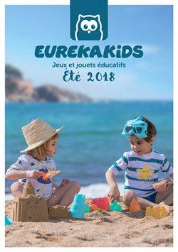 Promos de Jouets et Bébé dans le dépliant de EurekaKids à Liège