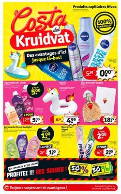 Promos de Kruidvat dans le dépliant à Bruxelles