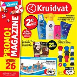Promos de Parfumeries et Beauté dans le dépliant de Kruidvat à Bruxelles
