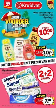 Promos de Parfumeries et Beauté dans le prospectus de Kruidvat à Liège ( 3 jours de plus )