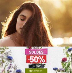 Promos de Parfumeries et Beauté dans le prospectus à Yves Rocher ( 9 jours de plus )
