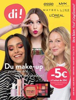 Promos de Parfumeries et Beauté dans le dépliant à Di ( 6 jours de plus)