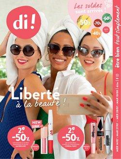 Promos de Parfumeries et Beauté dans le dépliant à Di ( 5 jours de plus)
