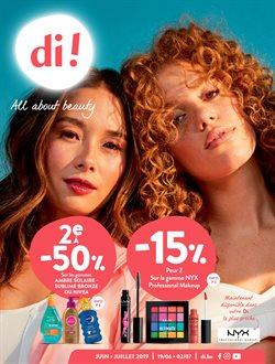 Promos de Parfumeries et Beauté dans le dépliant de Di à Bruxelles
