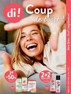 Promos de Parfumeries et Beauté dans le prospectus à Di ( 4 jours de plus )