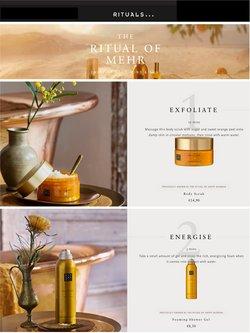 Promos de Parfumeries et Beauté dans le prospectus de Rituals à Bruxelles ( 18 jours de plus )