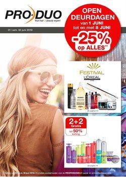 Promos de Parfumeries et Beauté dans le dépliant de Pro-Duo à Liège
