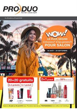 Promos de Parfumeries et Beauté dans le dépliant de Pro-Duo à Louvain