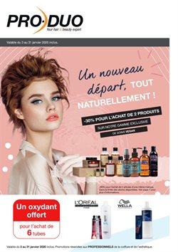 Promos de Parfumeries et Beauté dans le dépliant de Pro-Duo à Bruxelles