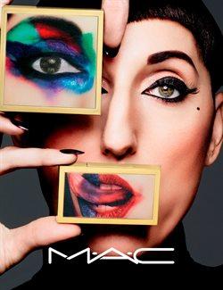 Promos de Parfumeries et Beauté dans le dépliant de MAC Cosmetics à Bruxelles
