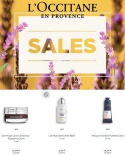 Promos de Parfumeries et Beauté dans le dépliant à L'Occitane ( 12 jours de plus)