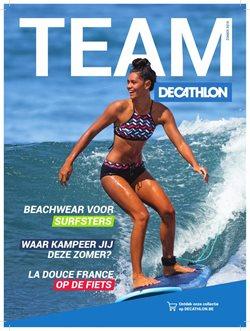 Promos de Sport dans le dépliant de Decathlon à Liège